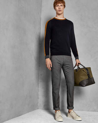 Ted Baker DALEE Slim fit textured trousers