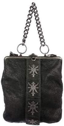 Thomas Wylde Embellished Frame Bag