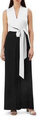 70a89196b85 Hobbs London Chloe Color-Block Tie-Waist Jumpsuit