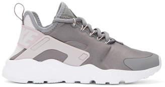 Nike Grey Air Huarache Run Ultra Sneakers