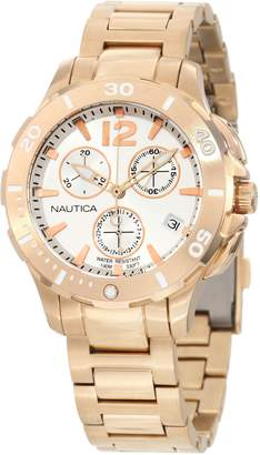 Nautica BFD 101 Chronograph Rose- Men's watch #N24530M
