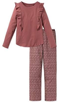 Schiesser Girl's Mädchen Anzug Lang Pyjama Sets