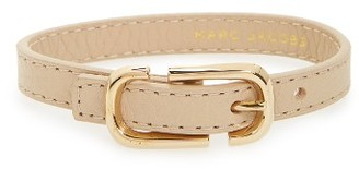 Women's Marc Jacobs Icon Leather Bracelet $95 thestylecure.com