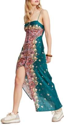 Free People Morning Song Printed Maxi Dress