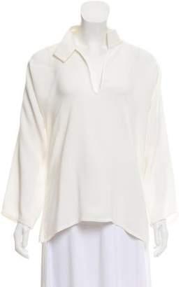 Sofie D'hoore Long Sleeve Silk Blouse