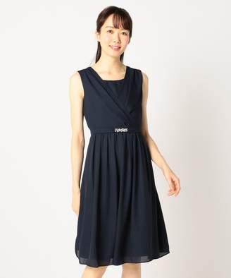 anySiS (エニィスィス) - any SiS 【洗える】ミモレシフォン ドレス(C)FDB