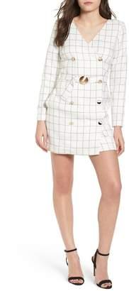 J.o.a. Chriselle x Blazer Minidress
