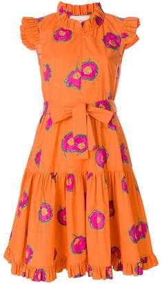 DAY Birger et Mikkelsen La Doublej floral print ruffle dress