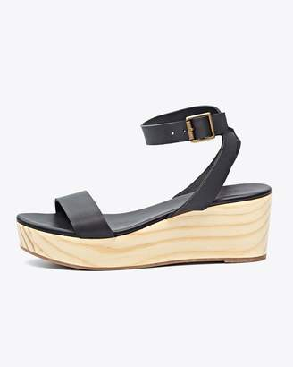 Nisolo Sarita Wedge Sandal Black
