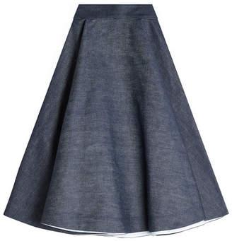 Calvin Klein Denim Midi Skirt