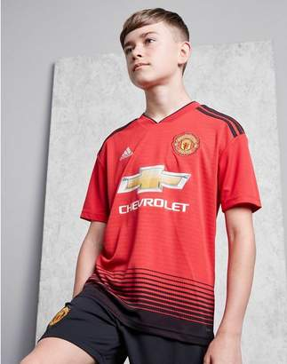 adidas Manchester United FC 2018/19 Home Shirt Junior