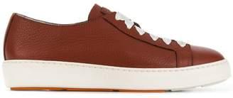 Santoni low top tennis sneakers