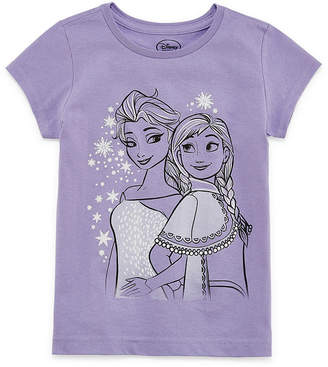 Disney Frozen Graphic T-Shirt-Preschool Girls