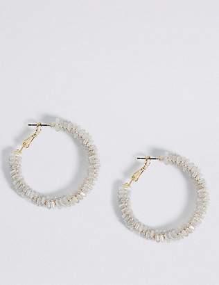 Marks and Spencer Beaded Hoop Earrings