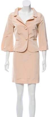 RED Valentino Textured Skirt Suit