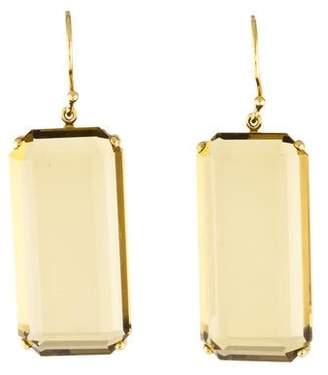 Ippolita 18K Citrine Drop Earrings