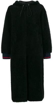 Inès & Marèchal Domino zipped coat