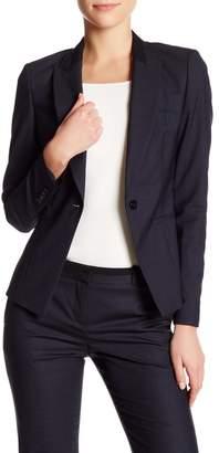 BOSS HUGO BOSS Janeka Wool Blend Jacket $625 thestylecure.com