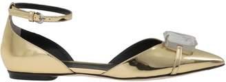 Marco De Vincenzo Leather Flat