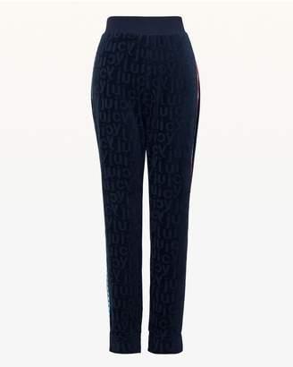 Juicy Couture Juicy Jacquard Velour Slim Pant