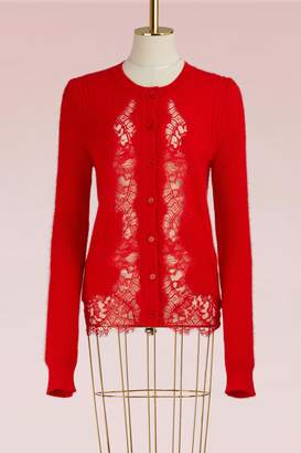 Givenchy Lace Mohair Cardigan