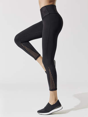 Michi ALTITUDE HIGH WAISTED CROP LEGGING