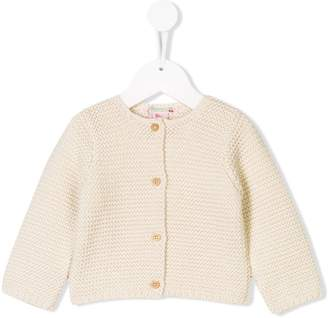 Bonpoint long-sleeve knitted cardigan