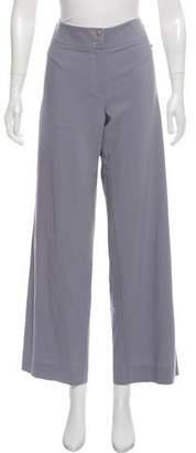 Armani Collezioni Mid-Rise Wool Pants