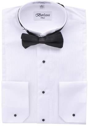 630649a5a53 at Amazon Canada · Berlioni Wing Tip Collar Mens Tuxedo Shirt