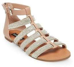 Design Lab Anise Rhinestone Embellished Sandals