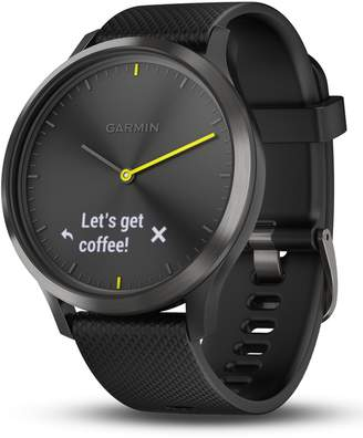 Garmin Vivomove HR Large Sport Hybrid Smart Watch