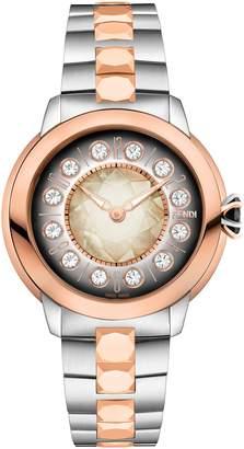 Fendi Ishine Semiprecious Stone Bracelet Watch, 33mm