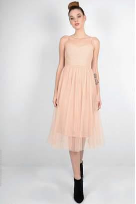 Molly Bracken Tulle Cocktail Dress