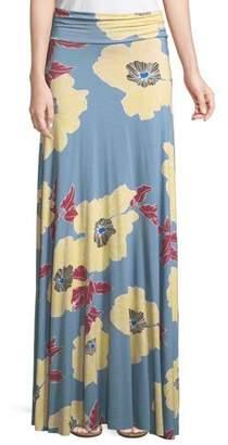 Rachel Pally Floral-Print Jersey Maxi Skirt