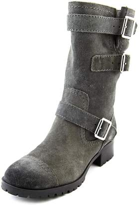 Marc Fisher Arianna Women US 6 Gray Mid Calf Boot
