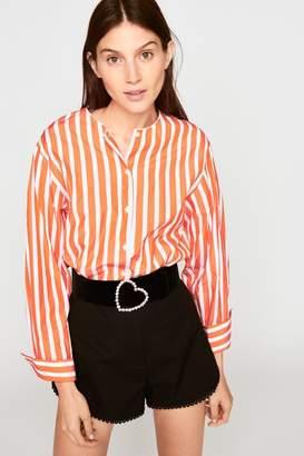 Tara Jarmon Cotton Piqué Shorts