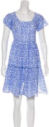 Thierry Colson Printed Mini Dress