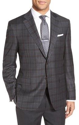 Men's Canali Classic Fit Plaid Wool Sport Coat $1,495 thestylecure.com