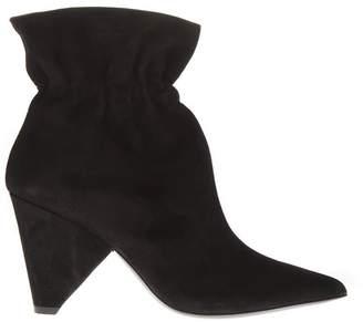 Aldo Castagna Black Suede Boots
