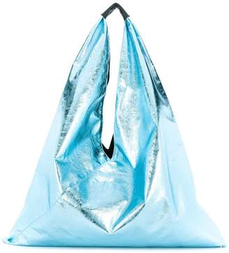 MM6 MAISON MARGIELA Japanese metallic tote bag
