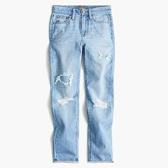 J.Crew Tall Point Sur high-rise retro straight jean in light wash