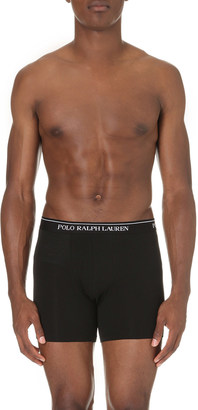 Polo Ralph Lauren Pack of three stretch-cotton boxer briefs $47.50 thestylecure.com