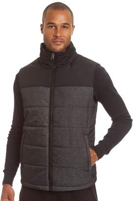 Champion Big & Tall Colorblock Quilted Puffer Vest