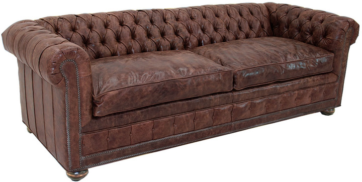 Old Hickory Tannery Holman Leather Sofa