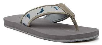Tommy Bahama Aggro Embroidered Flip Flop
