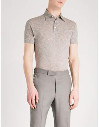 Richard James Short-sleeved cotton polo shirt