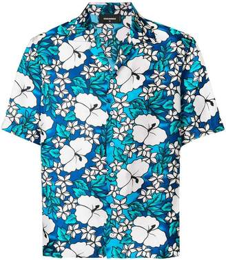 DSQUARED2 Hawaii print shirt