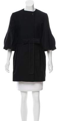 Stella McCartney Bell Sleeve Wool Coat
