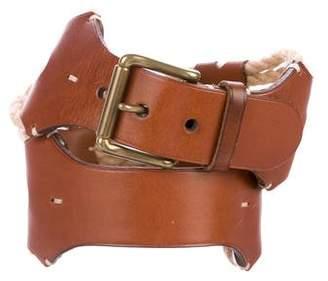 Ralph Lauren Rope & Leather Waist Belt