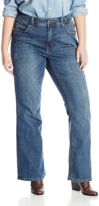 Melissa McCarthy Women's Plus-Size Boot Cut Jeans
